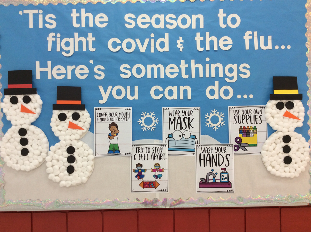 Stay healthy bulletin board